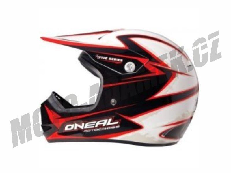 Motokrosová helma ONEAL 509 FRICTION-RED