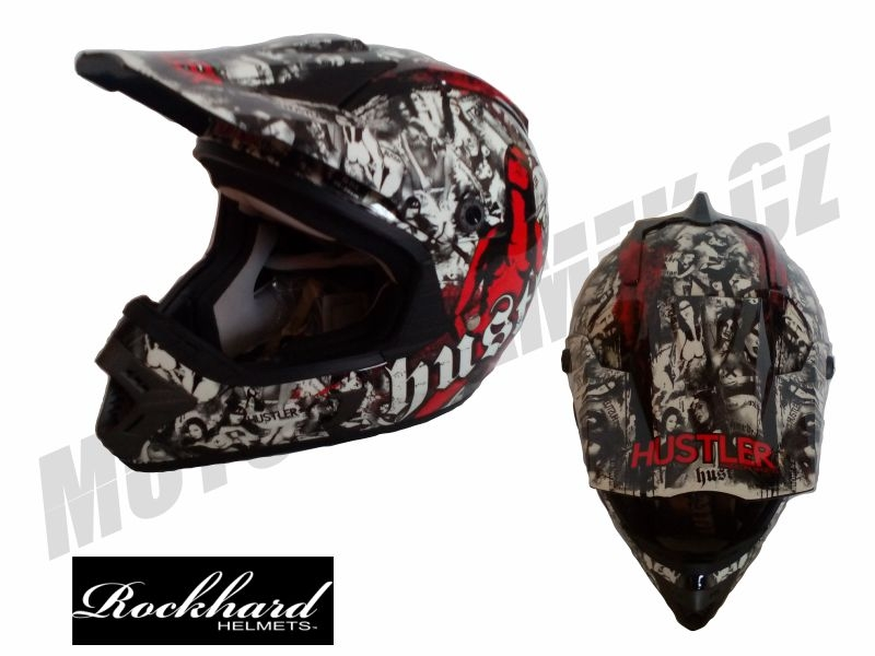 MX helma ONEAL RockHard HUSTLER limited edition S
