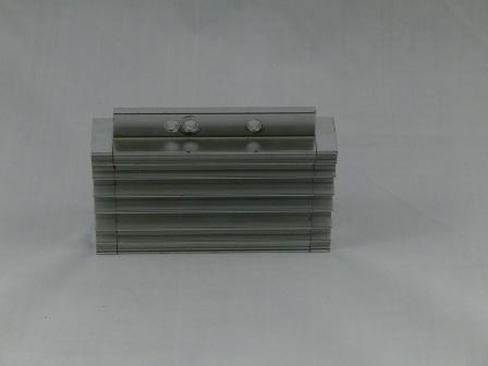 pitbike olejový chladič CNC stříbrný