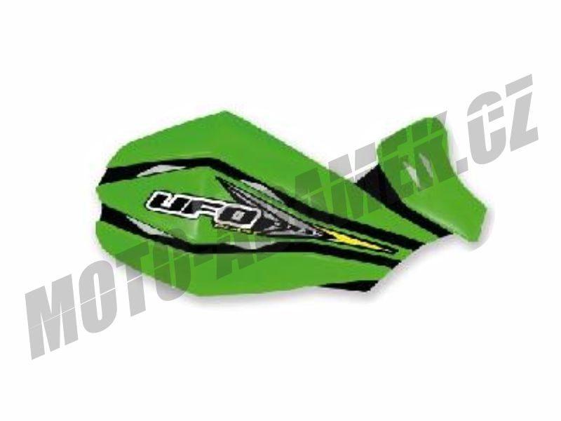 Kryty páček UFO CLAW alu KIT zelené
