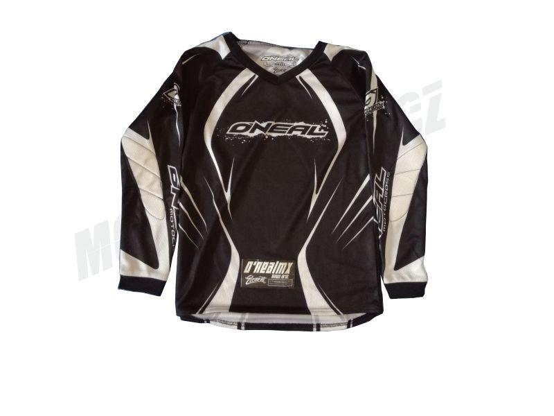 MX dres ONEAL ELEMENT dětský černý S/M