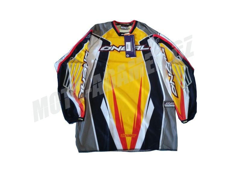MX dres ONEAL AIRWEAR žluto červený XL