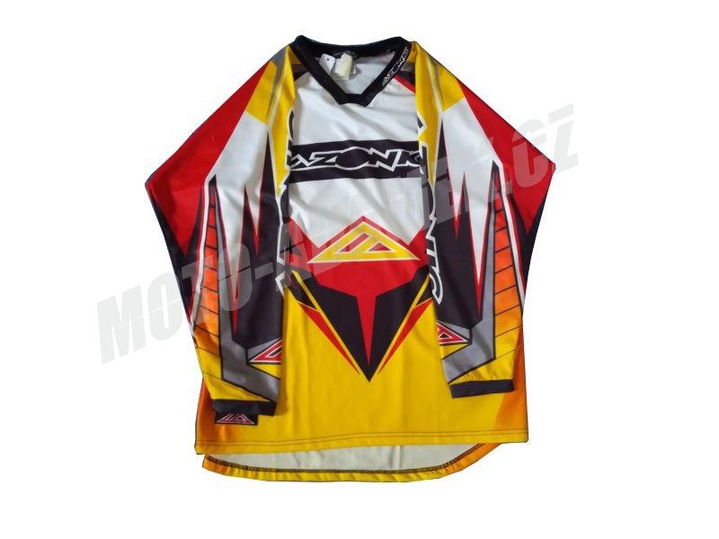 MX dres AZONIC CATALYST červeno žlutá L