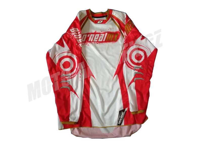 MX dres ONEAL HARDWEAR červeno bílý XL
