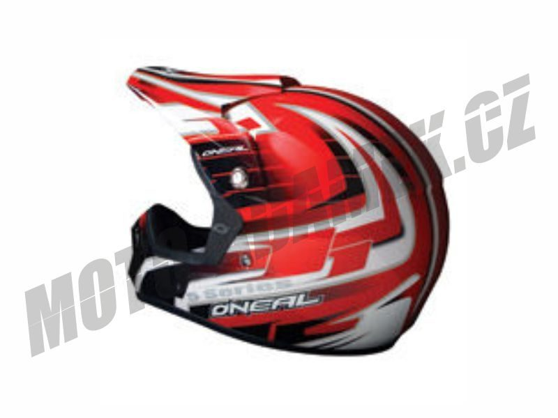 Motokrosová helma ONEAL 508 RED