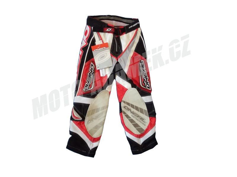 MX kalohty dětské ONEAL Hardwear červené 22
