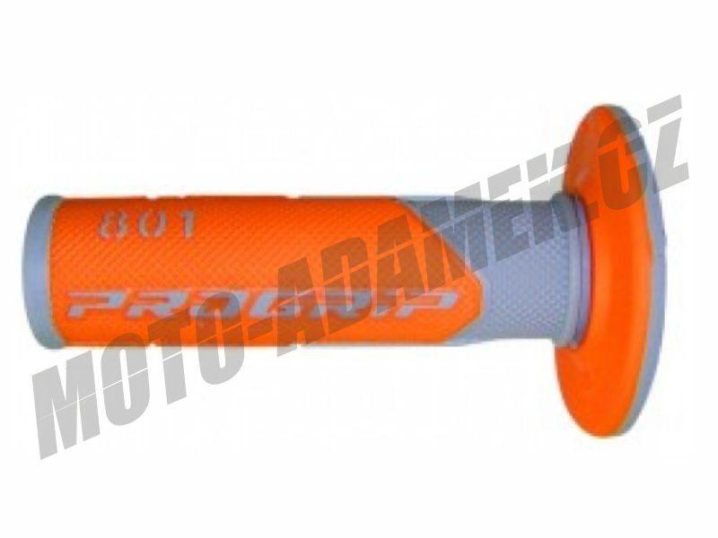 Gripy PROGRIP 801 oranžovo-šedé
