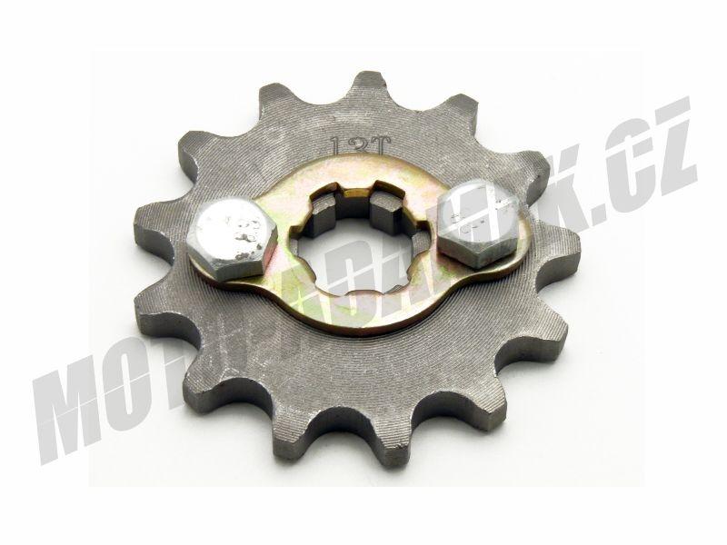 pitbike řetězové kolečko 420/13 na hřídel 17mm