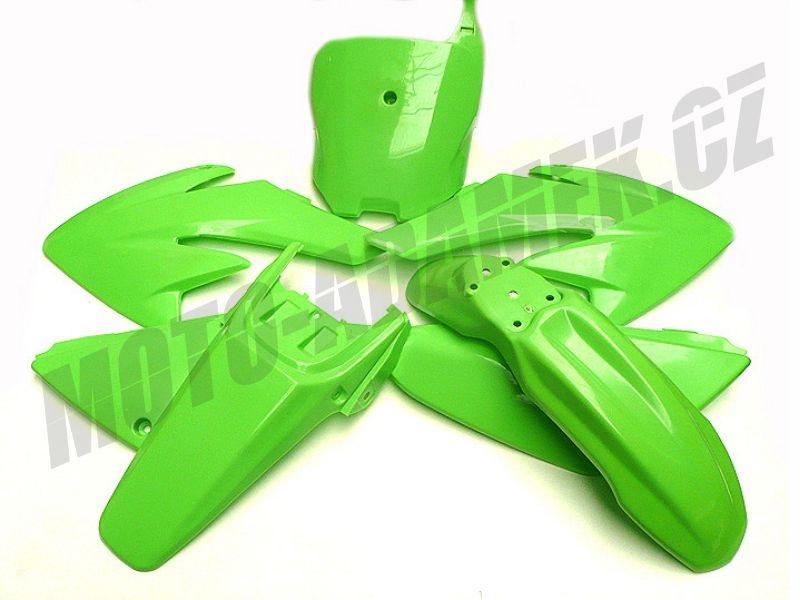 Pitbike sada plastů CRF70 zelená