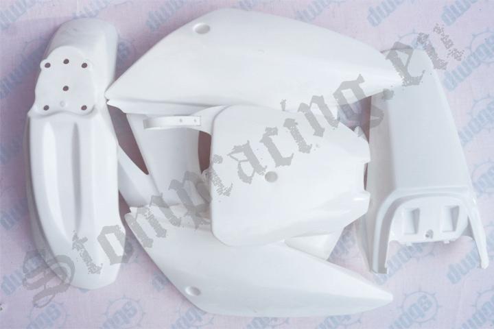 Sada plastů pitbike CRF 70 bílé