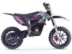 pitbike Stomp Wired Splatter electric moto adamek 3