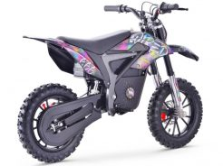 pitbike Stomp Wired Splatter electric moto adamek 4