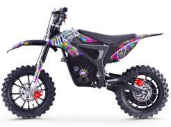 pitbike Stomp Wired Splatter electric moto adamek 5