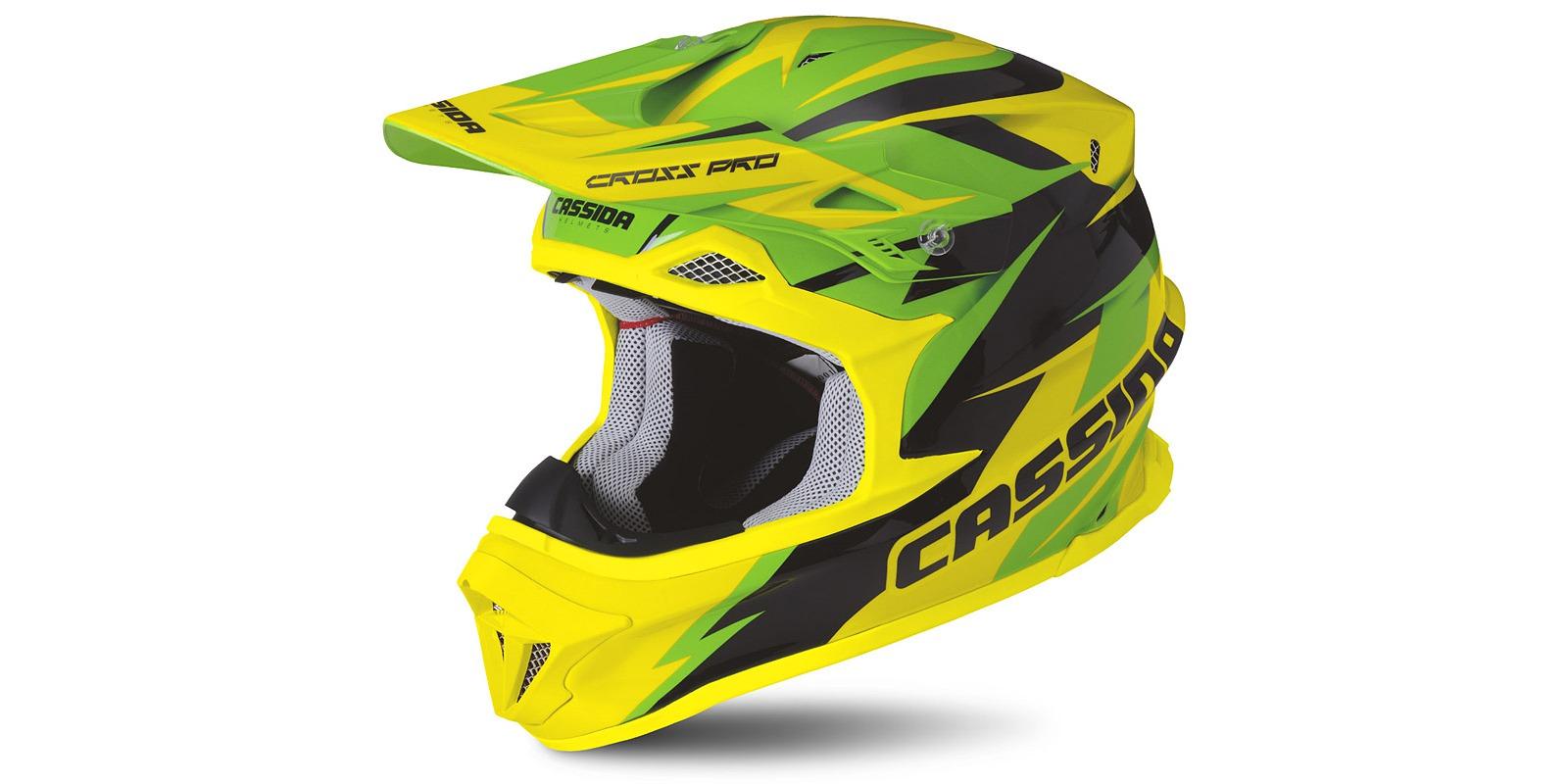 mx helma cassida cross pro žlutá fluo černá bílá moto adamek 1