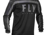 Dres Fly racing F16 2020 černá šedá vel XL moto adamek