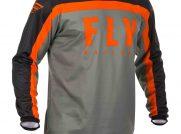 Dres Fly racing F16 2020 oranžová černá šedá moto adamek
