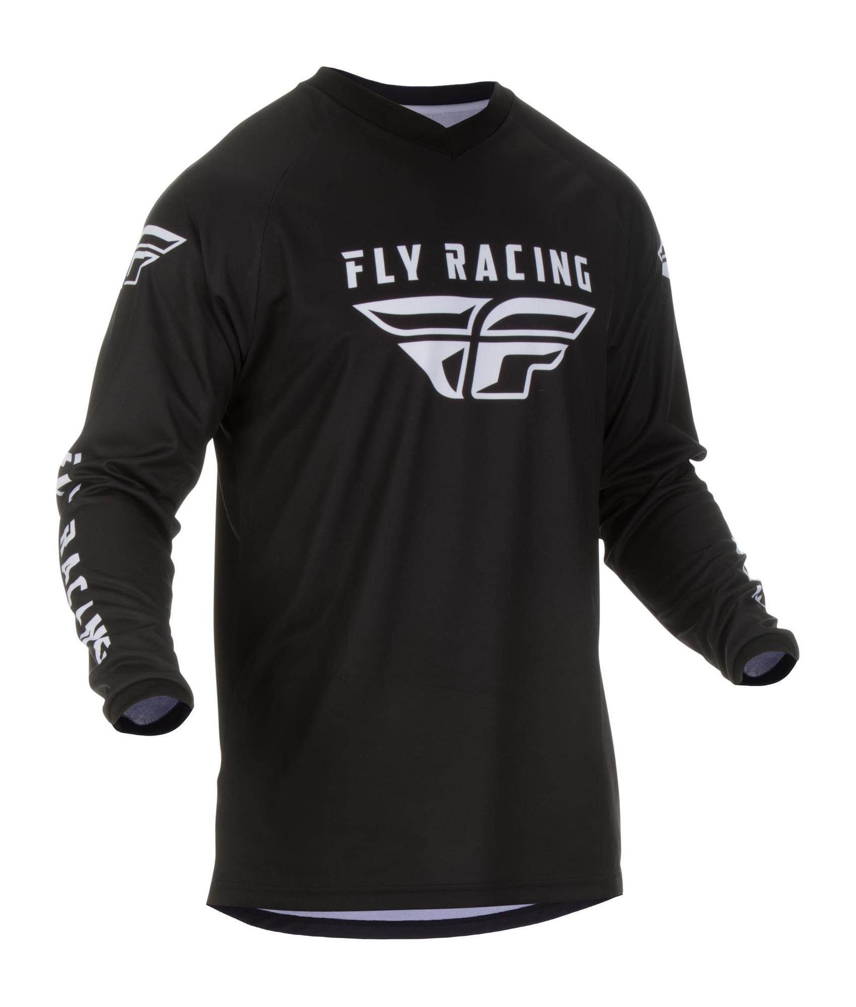 Dres Fly racing Universal černá S moto adamek