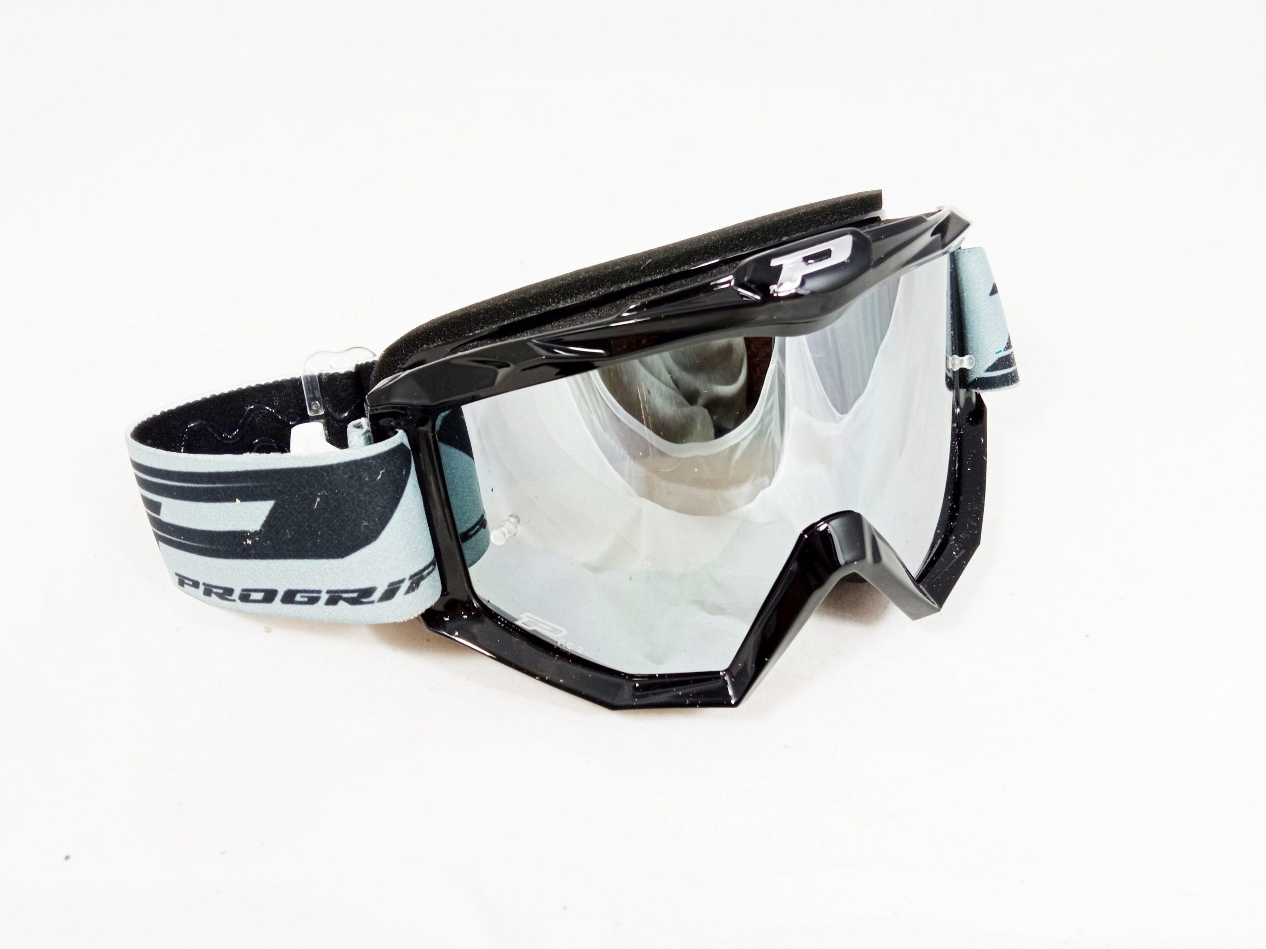 Brýle Progrip 3201 černé zrcadlo