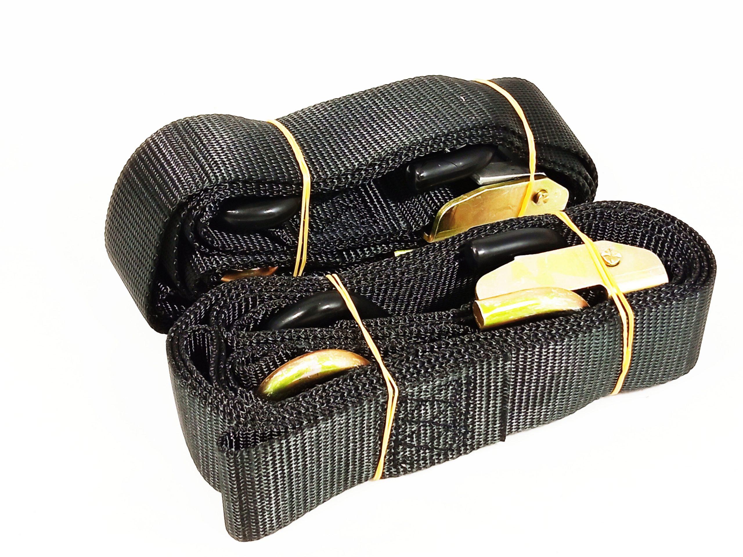 popruhy/kurty 38mm černé moto adamek